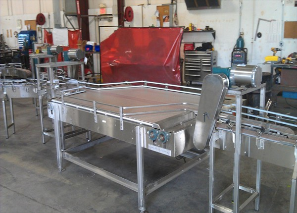 Table top conveyor 1